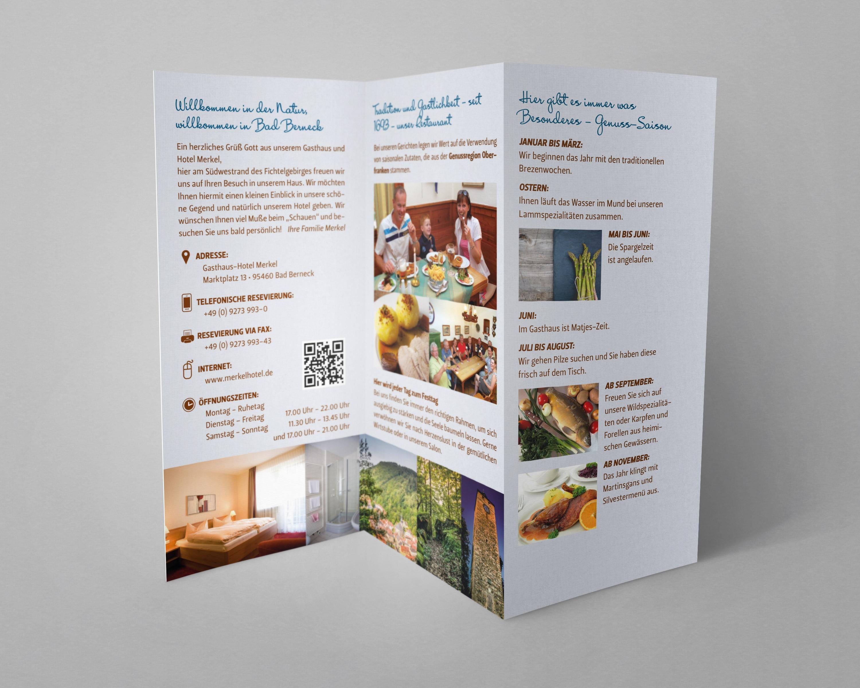 Merkel Hotel Folder 2 Temporausch Gestaltung Photography